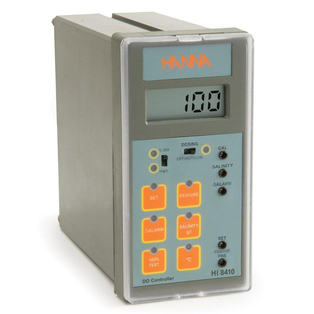 Controlador de Oxigênio Dissolvido com Faixa Estendida e Saída Analógica