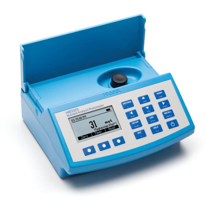 Fotômetro para Análises de Nutrientes
